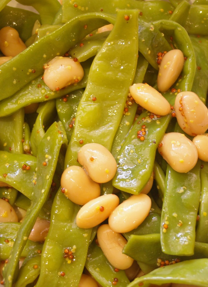 FLAT BEAN AND BUTTERBEAN SALAD 2